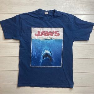 Jaws Universal Studios Vtg T Shirt Blue Sz M Duh